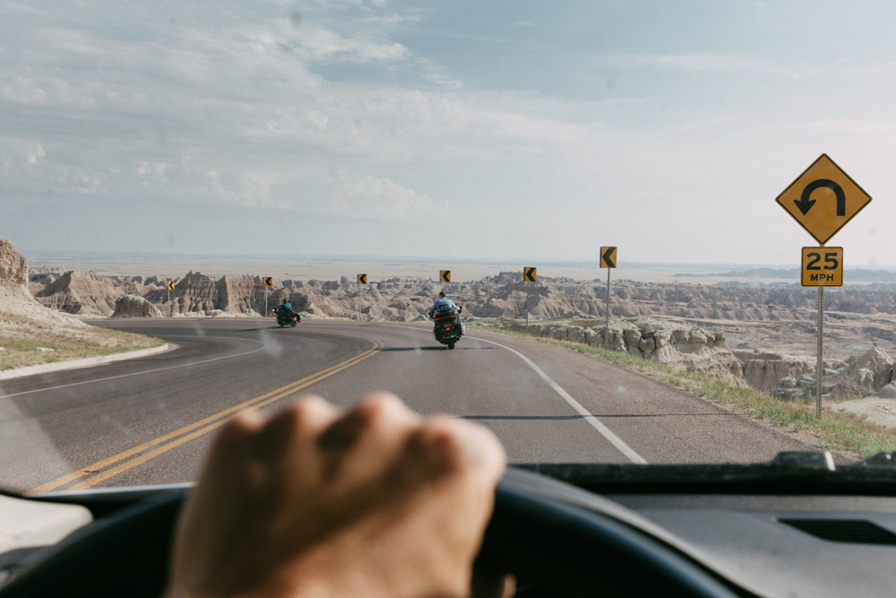 Kyle Peters Photography Road trip badlands